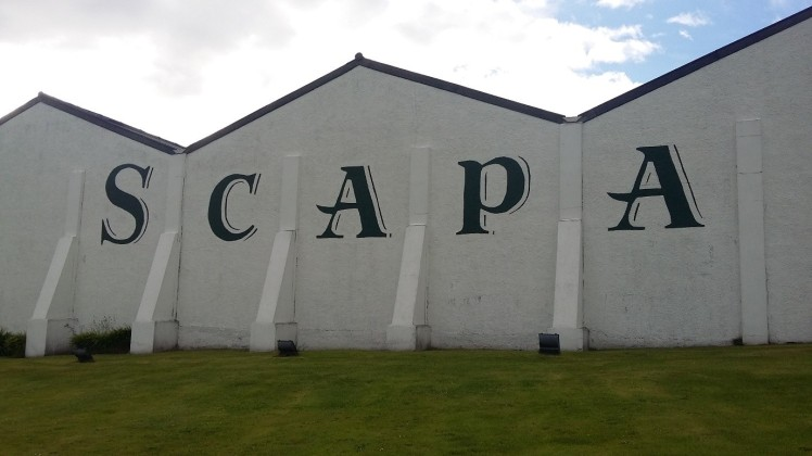 Scapa distillery (credit and copyright: Angela Dineen)