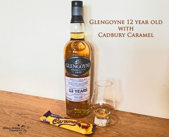 Scotch Whisky Experience: Glengoyne 12 year old and a Cadbury Caramel