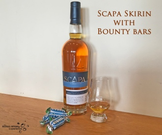 Scotch Whisky Experience: Scapa Skiren with a Bounty