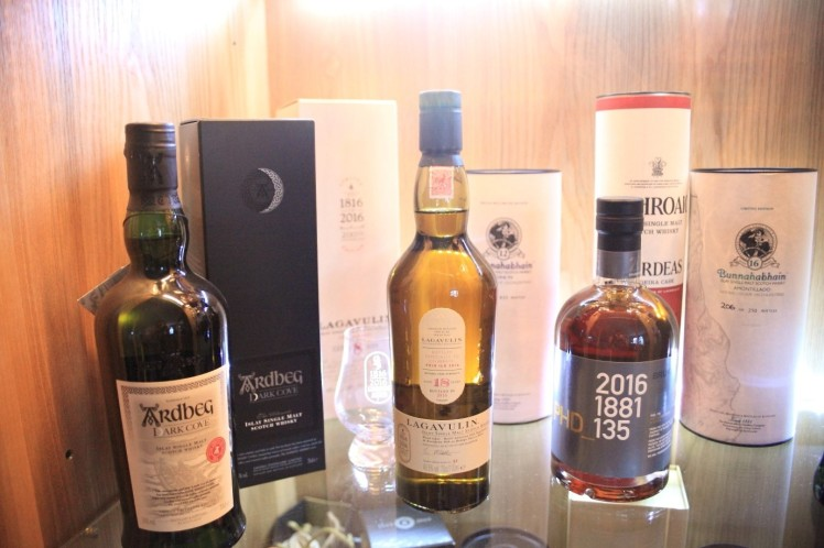 Collection of whisky
