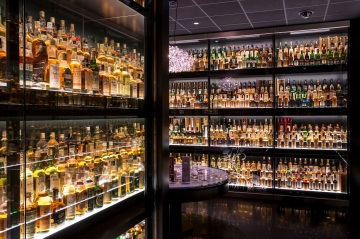 Whisky Collection - Scotch Whisky Exp wide shot resized