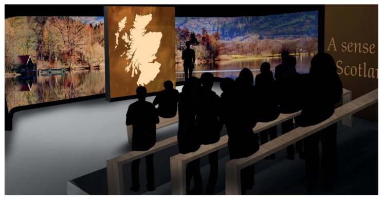 bright 3d sense of scotland