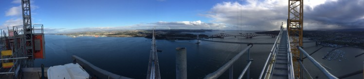 View from the bridges