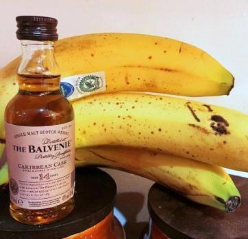 Balvenie Caribbean Cask whisky works well in a banana cake recipe
