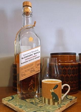Johnnie Walker Espresso roast whisky - use in cake recipes