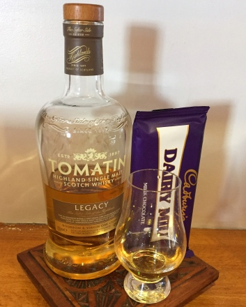 Tomatin and chocolate highland coo cupcake ingredients