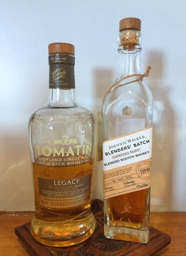 Tomatin Legacy and Johnnie Walker Espresso Roast - baking with whisky