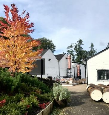 Glenturret distillery exterior (credit and copyright: Glenturret distillery)