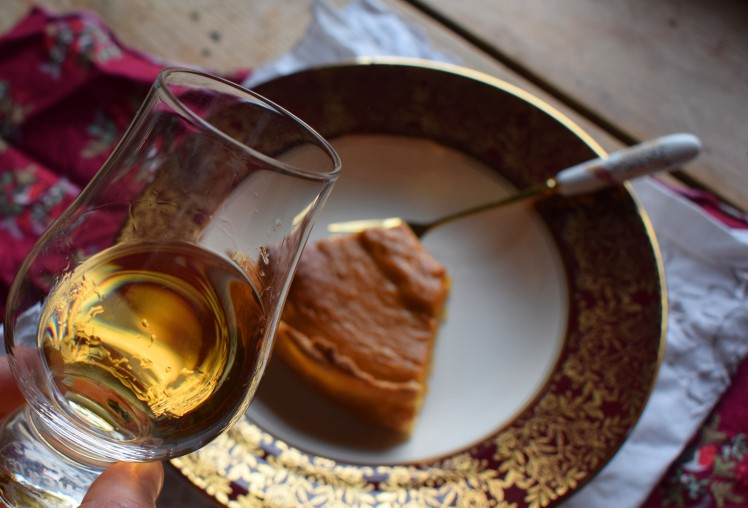 Whisky matches for pumpkin pie
