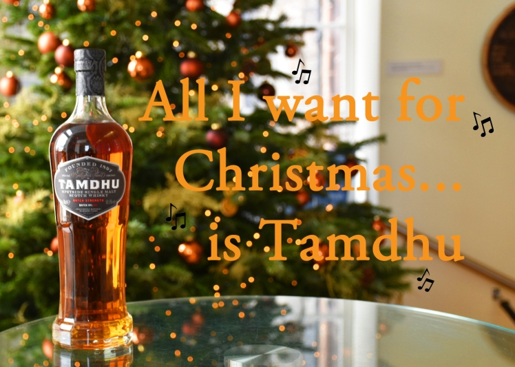 All I want for Christmas is Tamdhu - whisky puns for Christmas at the Scotch Whisky Experience