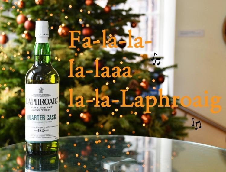 FalalalalalalaLaphroaig - whisky puns for Christmas, the Scotch Whisky Experience