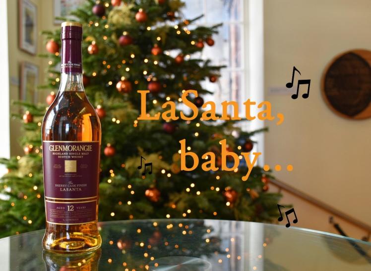 Glenmorangie LaSanta baby - Christmas whisky puns from the Scotch Whisky Experience team