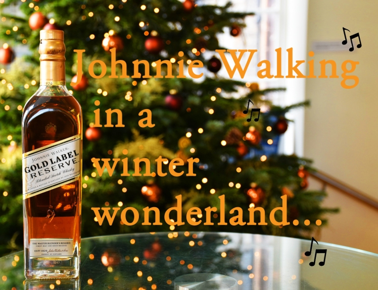 Johnie Walking in a Winter Wonderland - festive whisky puns (The Scotch Whisky Experience)